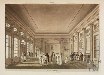 Inside the Pump Room, Bath 1804