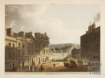 Marlborough Lane and St. James's Square, Bath 1805