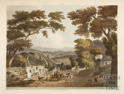 Road to Bradford (Brassknocker Hill), Monton Combe 1804