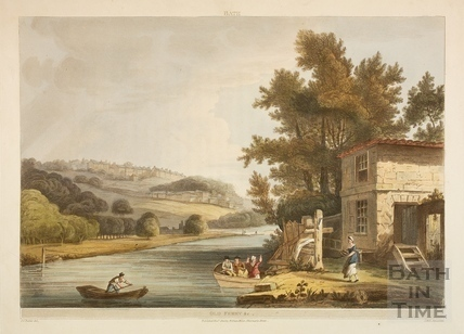 The Old Ferry, Bath 1805