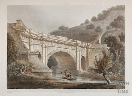 Dundas Aqueduct, Limpley Stoke 1804