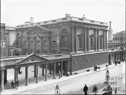 Pump Room and Colonnade, Stall Street, Bath c.1903