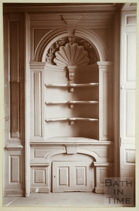 Alcove and cupboard, Nassau House, Orange Grove c.1890