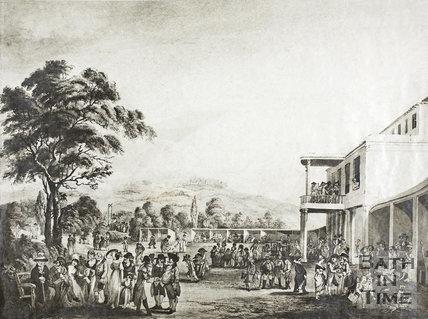 Sydney Gardens, Bath, 1801