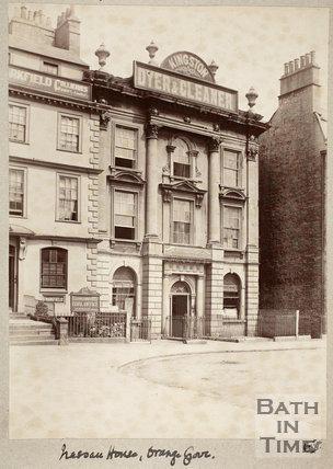 Nassau House, 13, Orange Grove, Bath c.1895