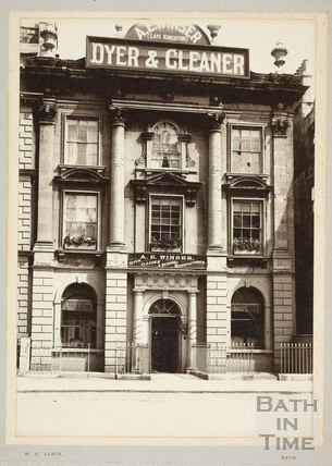 Nassau House, 13, Orange Grove, Bath c.1897