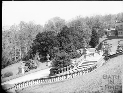 Terrace, Prior Park, Bath c.1903