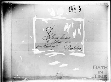 Envelope of letter from Mrs. Piozzi 1817