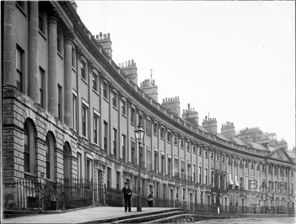 Camden Crescent, Bath c.1903