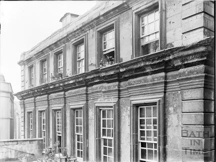 Rear view, Beau Nash's House, 9, St. John's Place, Bath c.1903