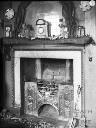 Fireplace, St. John's Court, Bath c.1903