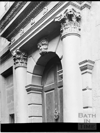 Doorway, Beau Nash's House, 9, St. John's Place, Bath c.1903
