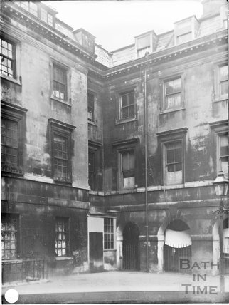 St. John's Hospital, Chapel Court, Bath c.1903