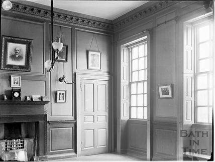 Interior of Beau Nash's House, 9, St. John's Place, Bath c.1903