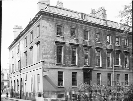 Chandos Hall, Chandos Buildings, Bath c.1903