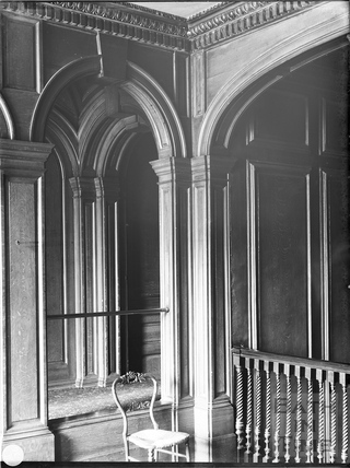 Upper hall, Widcombe Manor, Bath c.1903