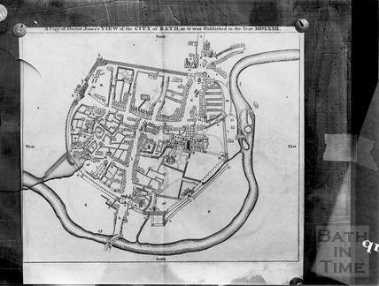Plan of the City of Bath 1572