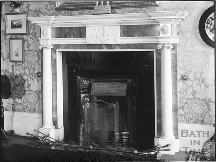 Fireplace, Royal Crescent, Bath c.1903