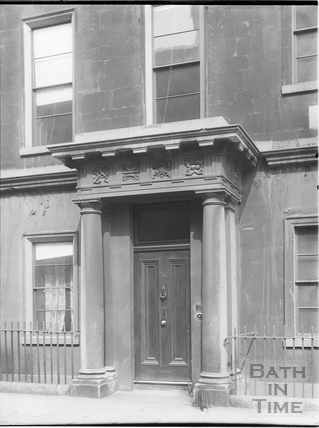 Doorway, 36, Brock Street, Bath c.1903