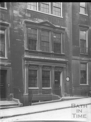 Mrs. Piozzi's house, 8, Gay Street, Bath c.1903
