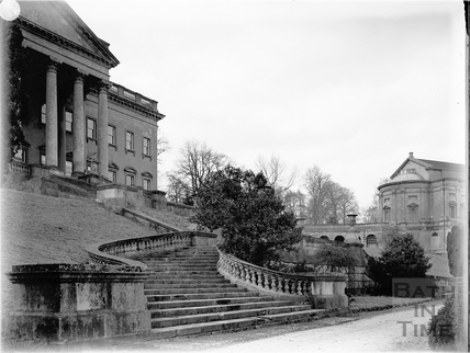 Steps, Prior Park, Bath c.1903