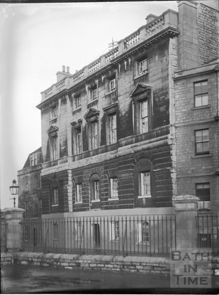 Police Barracks (old gaol), Grove Street, Bath c.1903