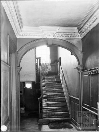 Staircase, Kingsmead Street, Bath c.1903