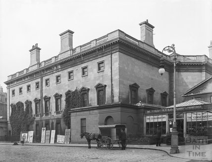 Assembly Rooms from Alfred Street, Bath c.1903