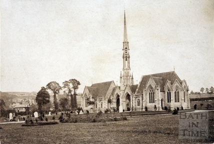 Widcombe, Lyncombe and St. James's Cemetery Chapel, Bath c.1870