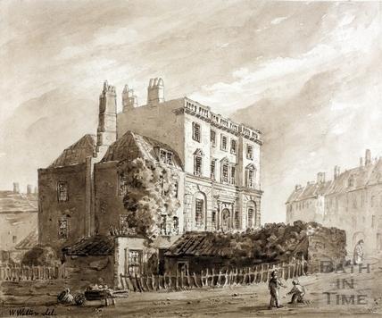 Bath Gaol Watercolour c.1810?