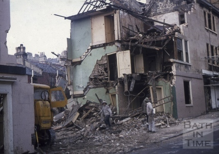 Morford Street demolition 9 Feb 1972