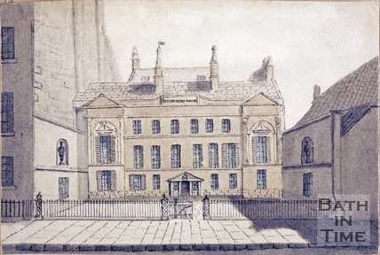 Belvedere House, Landsown Road, pre 1860
