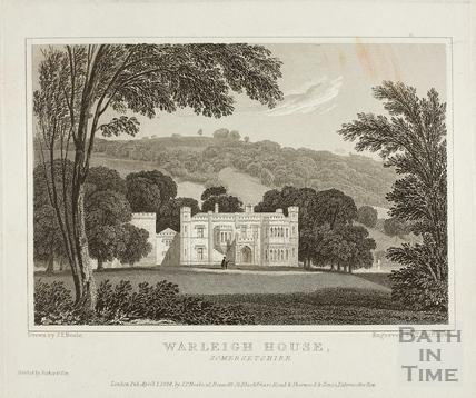 Warleigh House (Warleigh Manor) 1824