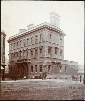 Albert Wing, Royal United Hospital, Hot Bath Street and Lower Borough Walls, Bath c.1880