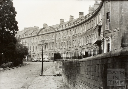 Somerset Place, Bath 1969
