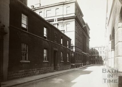 Bellott's Hospital and Royal United Hospital, Beau Street, Bath c.1932