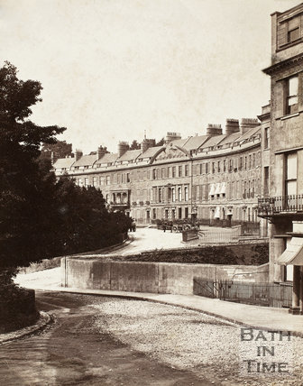 Somerset Place, Bath c.1900