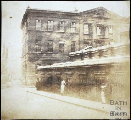 The United Hospital, Beau Street, Bath 1849