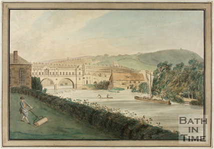 The New Bridge, Pulteney Bridge, Bath 1773