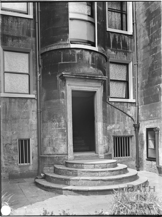 Rear doorway, Duke Street, Bath c.1903