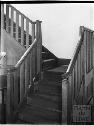 Staircase, Royal School, Lansdown, Bath c.1903