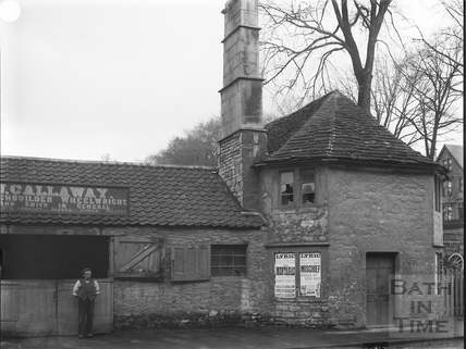 Old toll house, opposite Albion Place, Upper Bristol Road, Bath c.1903