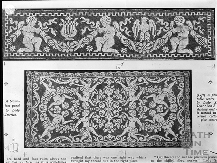 News article of a panel by Lady Smith-Dorrien c.1903