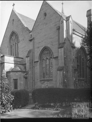 St. Luke's Church, South Lyncombe, Bath c.1903