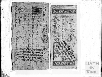 Bath Banknotes c.1903
