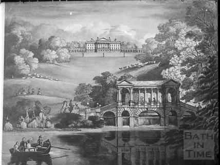 Prior Park and Palladian Bridge, Bath