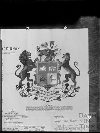 Coat of Arms of Mackinnon c.1903
