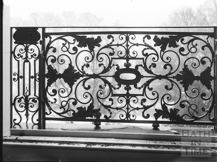 Balcony, 1, Lansdown Place West c.1903