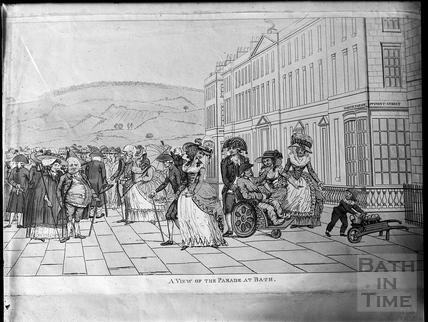 Print of North Parade, Bath