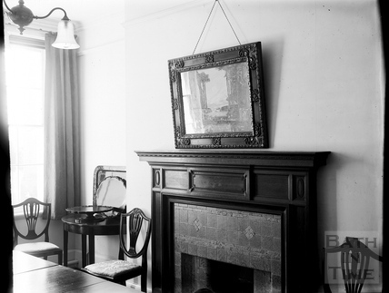 Sitting room, Partis College, Weston, Bath c.1903